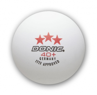 Donic 40+ 3 Star Cell Free Balls x12