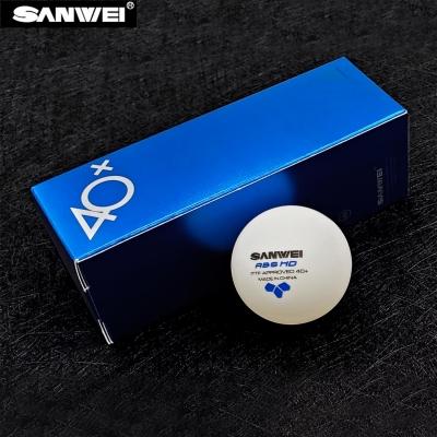 Sanwei ABS HD 40+ 3* Table Tennis Ball x3