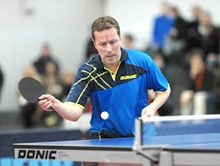 TABLE TENNIS DONIC LEGENDS LONDON TOUR